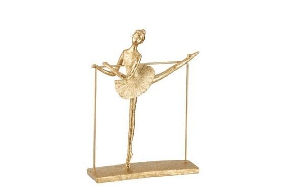 Ballerina been opzij
