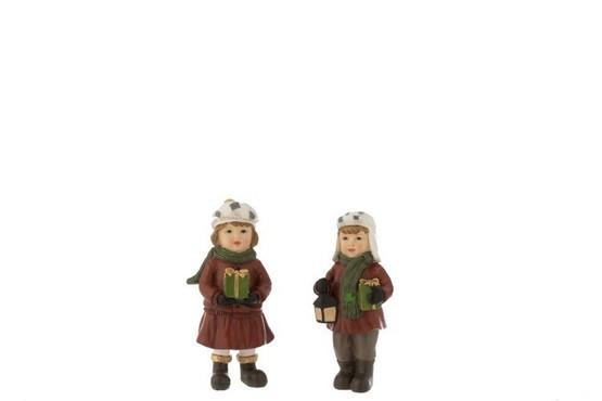 Assortiment van 2 kind kerst