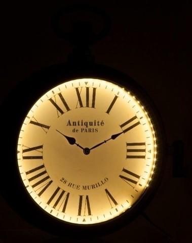 klok Antiq 2 zijdig led