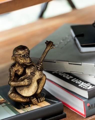 Assortiment van drie apen muziek