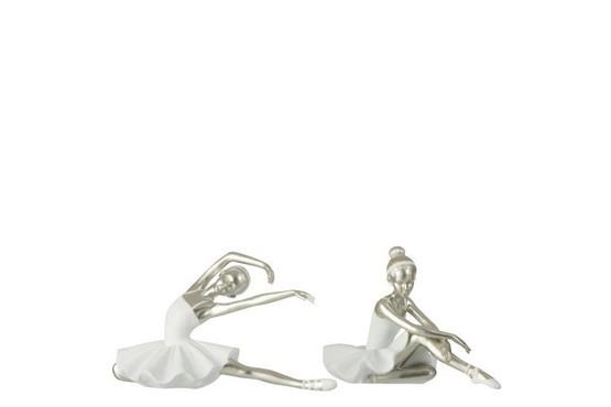Ballerina Zittend 2 stuks