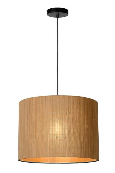 MAGIUS - Hanglamp - 1xE27 - Licht hout