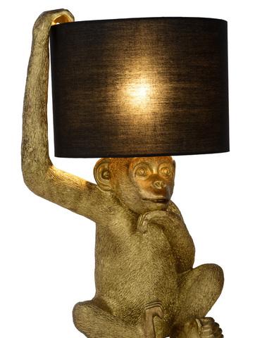 CHIMP - Tafellamp  - 1xE14 - Zwart