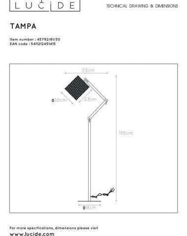 TAMPA - Vloerlamp