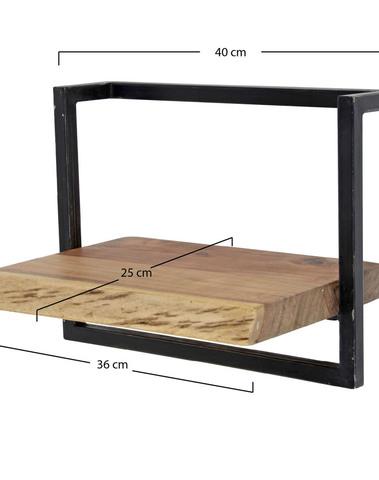 Wandplank Edge 40cm