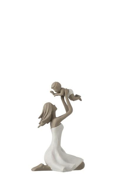 Moeder+Kind Op De Knieen