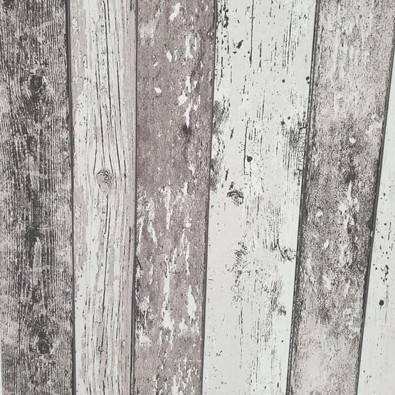 Behang houtstructuur