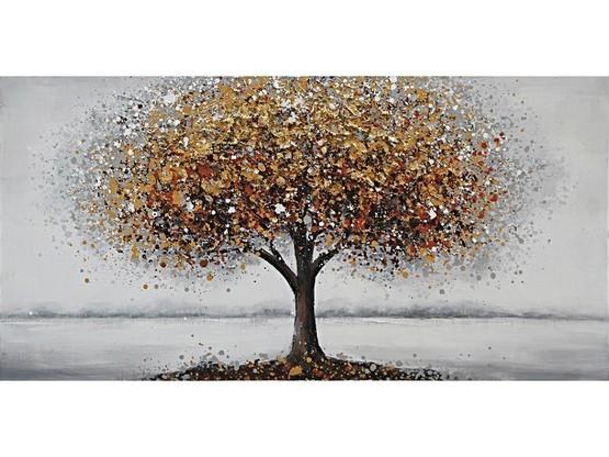 Schilder gouden boom