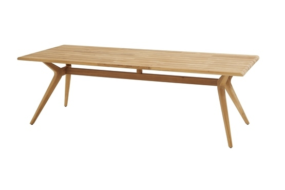Bel  Air Teak Tafel 240*100