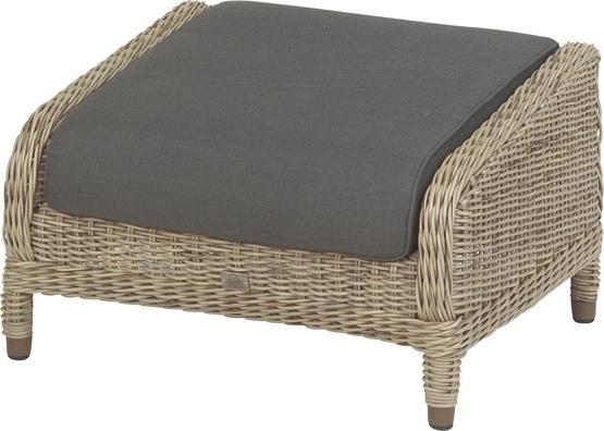 Brighton footstool Pure