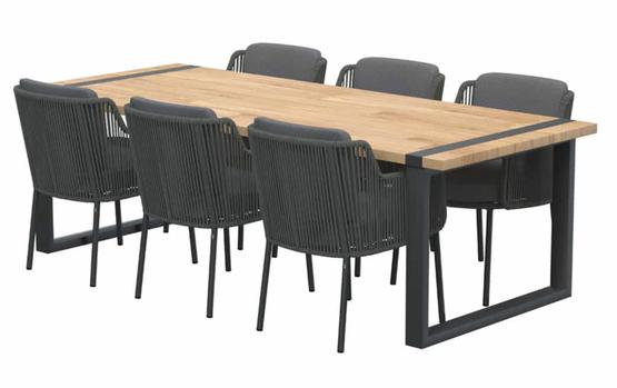 Bernini dining + Alto tafel 240