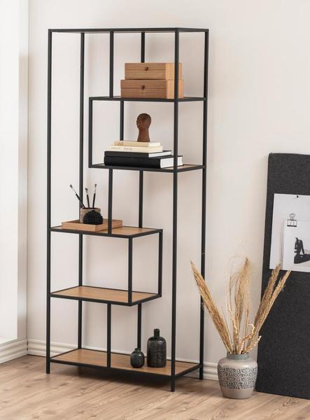Seaford Bookcase met 4 onregelmatige leggers